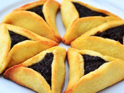prune hamantaschen from The Jewish Kitchen