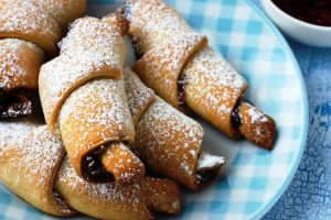 hungarian pastry crescents from The Jewish Kitchen