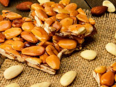 cinnamon almond brittle from The Jewish Kitchen