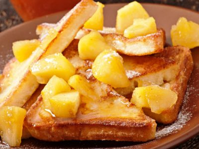 apple maple french toast