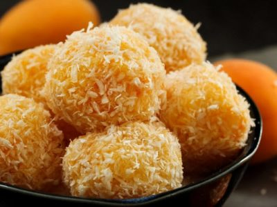 evy's apricot coconut balls