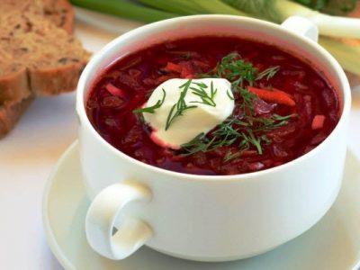 borscht from The Jewish Kitchen