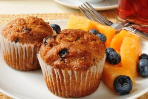 bran muffins with raisins from The Jewish Kitchen