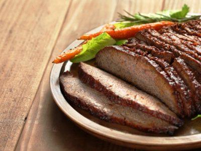 beef brisket with gravy