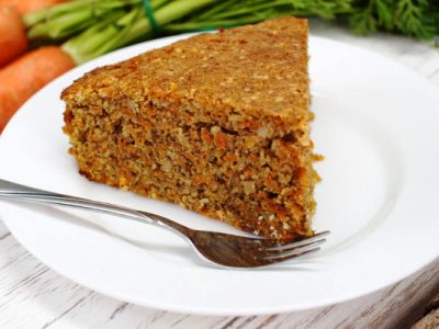 fresh carrot cake
