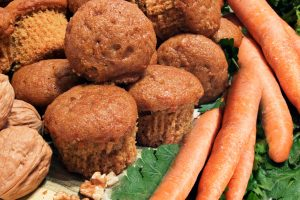 carrot muffins from The Jewish Kitchen