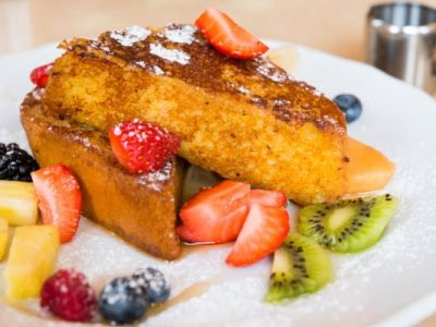 challah french toast from The Jewish Kitchen