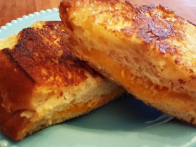 challah grilled cheese