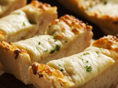 cheesy garlic herb bread