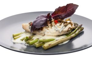 creamy chicken and asparagus from The Jewish Kitchen