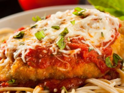 chicken parm from The Jewish Kitchen