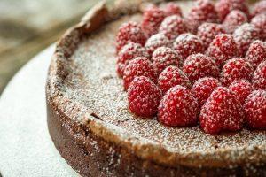chocolate flourless cake from The Jewish Kitchen