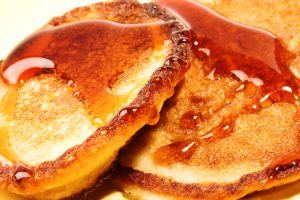 cinnamon whole grain pancakes