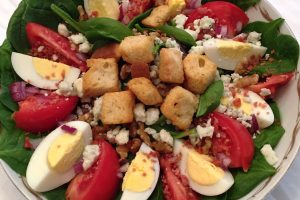 kosher spinach salad