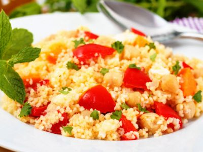 couscous and chick pea salad