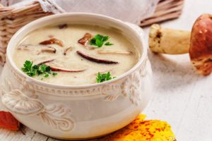 cream of mushroom soup f rom The Jewish Kitchen