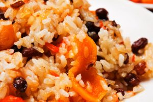 dried cherry and apricot rice