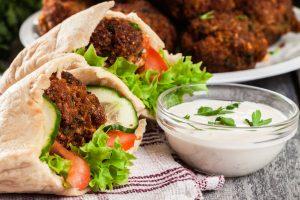 falafel from The Jewish Kitchen
