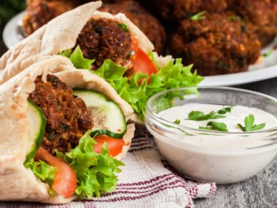 falafel from The Jewish Kitchen