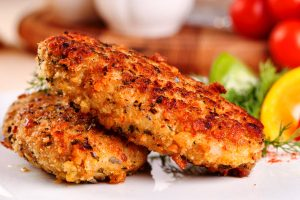 kosher crispy fish cakes
