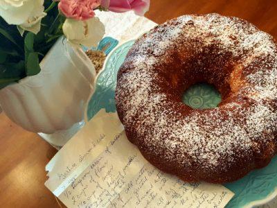 gertie's almond cake