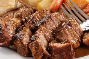 glazed beef brisket