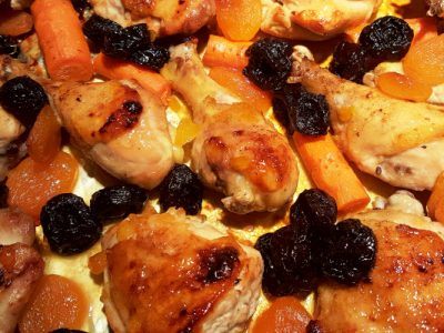 holiday apricot chicken