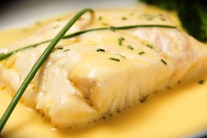 honey mustard glazed fish from The Jewish Kitchen