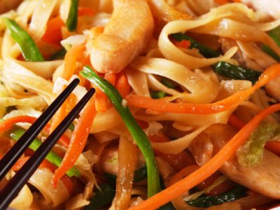 kosher chicken chow mein from The Jewish Kitchen