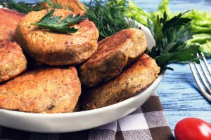 kosher vegetable cutlets from The Jewish Kitchen