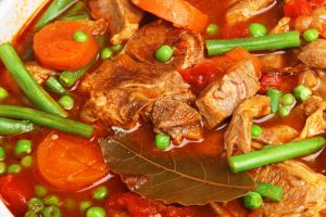 kosher lamb stew from The jewish Kitchen