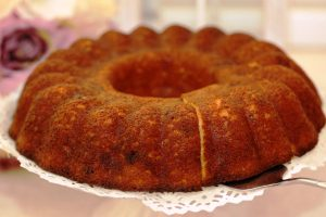 light cinnamon coffee cake from The Jewish Kitchen