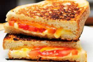 lite grilled cheese sandwich from The Jewish Kitchen