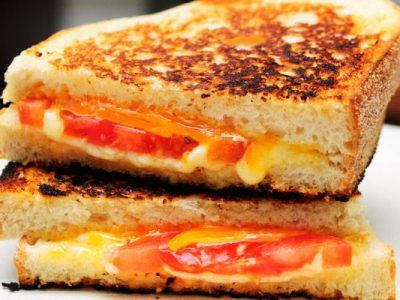lite grilled cheese sandwich