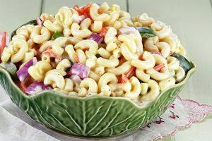 classic macaroni salad from The Jewish Kitchen