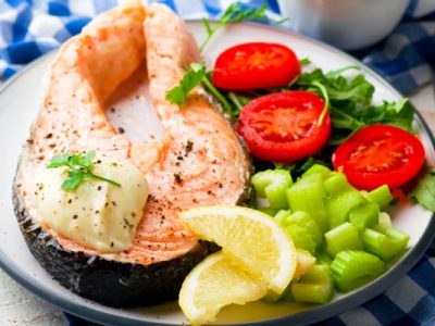 microwave salmon from The Jewish Kitchen