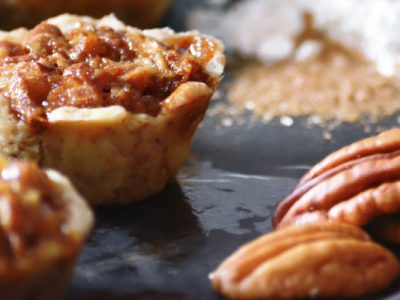 mini pecan pies from The Jewish Kitchen