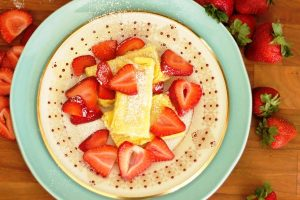mom's baked blintzes