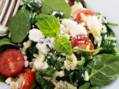 orzo salad from The Jewish Kitchen