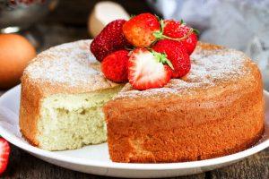 Passover sponge cake from The Jewish Kitchen