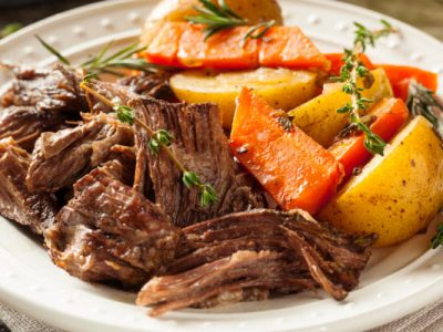 pot roast from The Jewish Kitchen