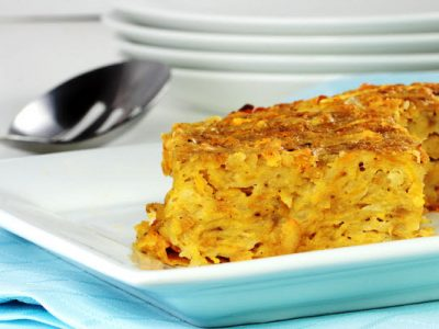 mom's potato kugel