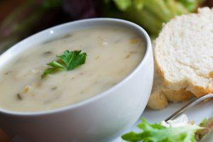 potato soup from The Jewish Kitchen