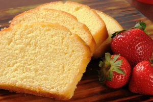 vanilla poundcake from The Jewish Kitchen