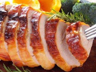roast citrus turkey breast