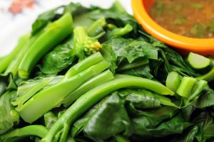 roasted spinach