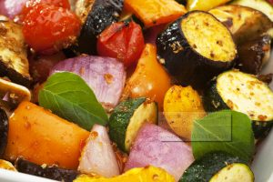 oven roasted vegetables from The Jewish Kitchen