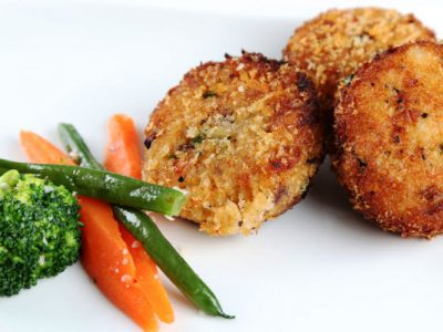 salmon croquettes from The Jewish Kitchen
