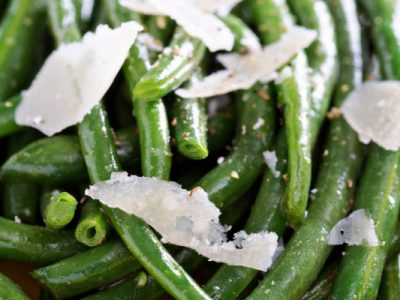 savory string beans from The Jewish Kitchen