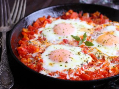shakshouka from The Jewish Kitchen